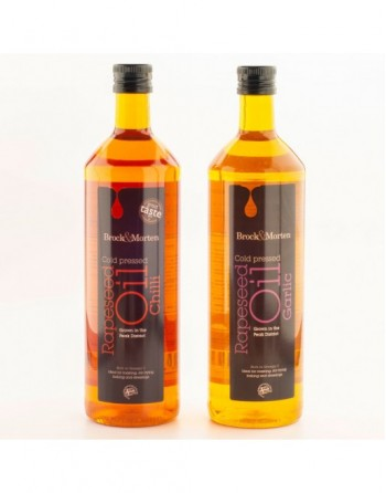 Brock & Morten Chilli and Garlic Rapeseed Oil image