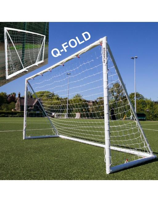 Quickplay Q-Fold 12 x 6ft (366 x 183cm) Folding Football Goal