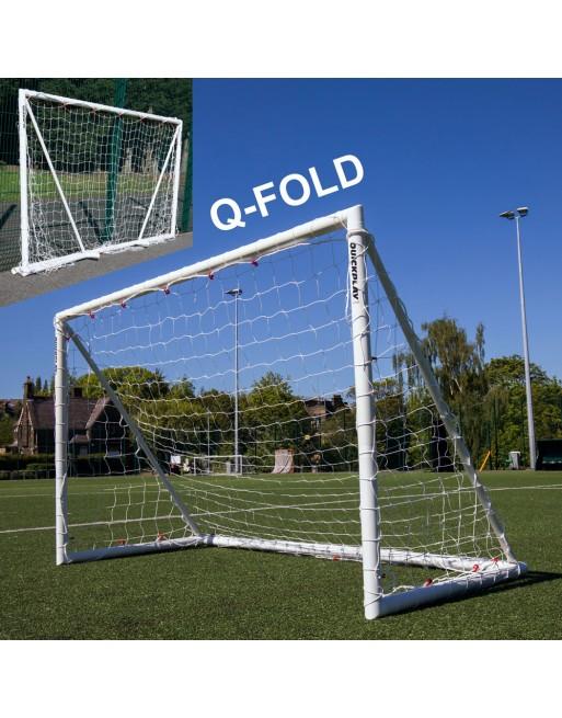 Quickplay Q-Fold 8ft x 5ft (244cm x 152cm) Folding Football Goal